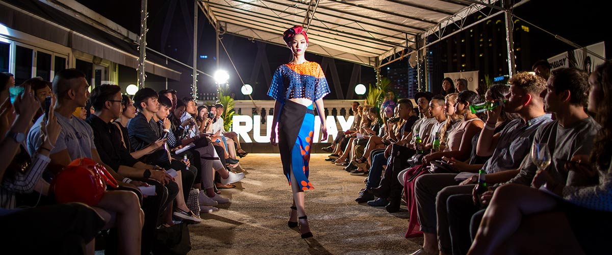 Runway Debuts in Singapore
