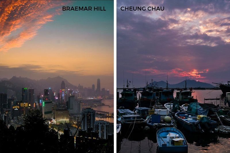 21 Things To Do Without Alcohol Braemar Hill Cheung Chau Sunset City Skyline