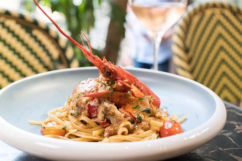 French Creations Hong Kong F&B Lobster Dish Pasta