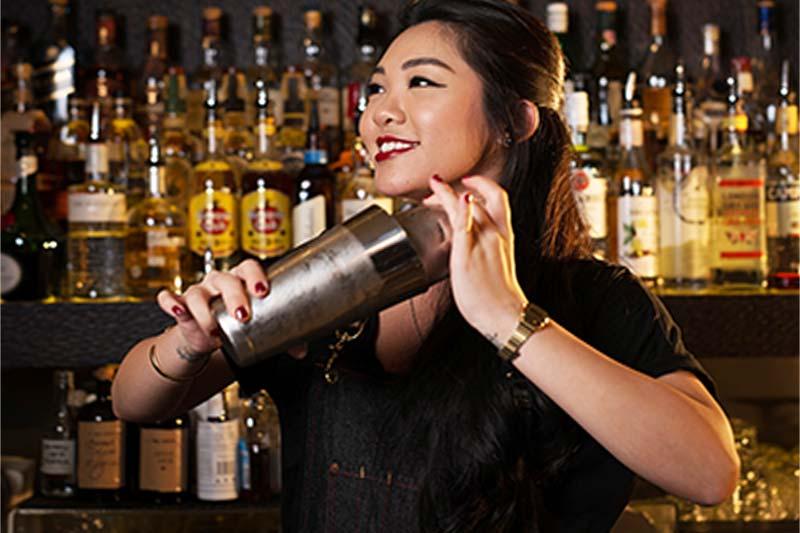 Female Bartender Amanda Wan