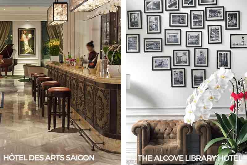 Ho Chi Minh City Best Staycation Saigon Alcove Library Hotel