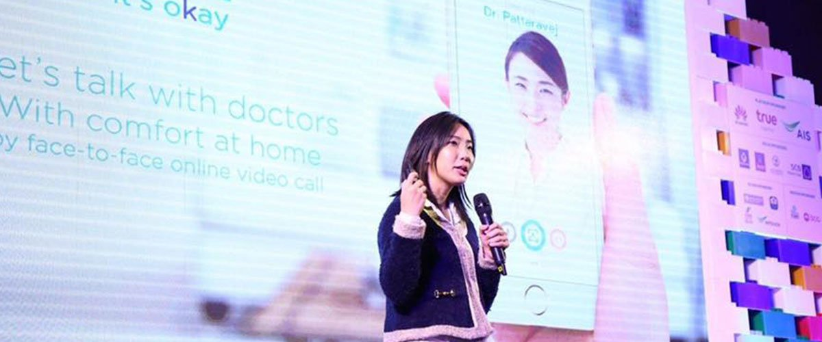 Female Tech Founder Builds Thailand's First Mental Health App, Reaches 63,000 People