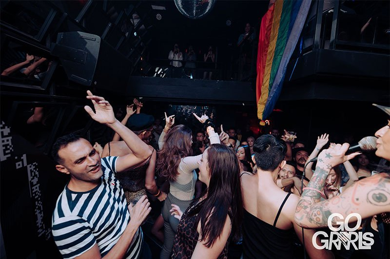Queer DJ collective Go Grrrls LGBT Bangkok