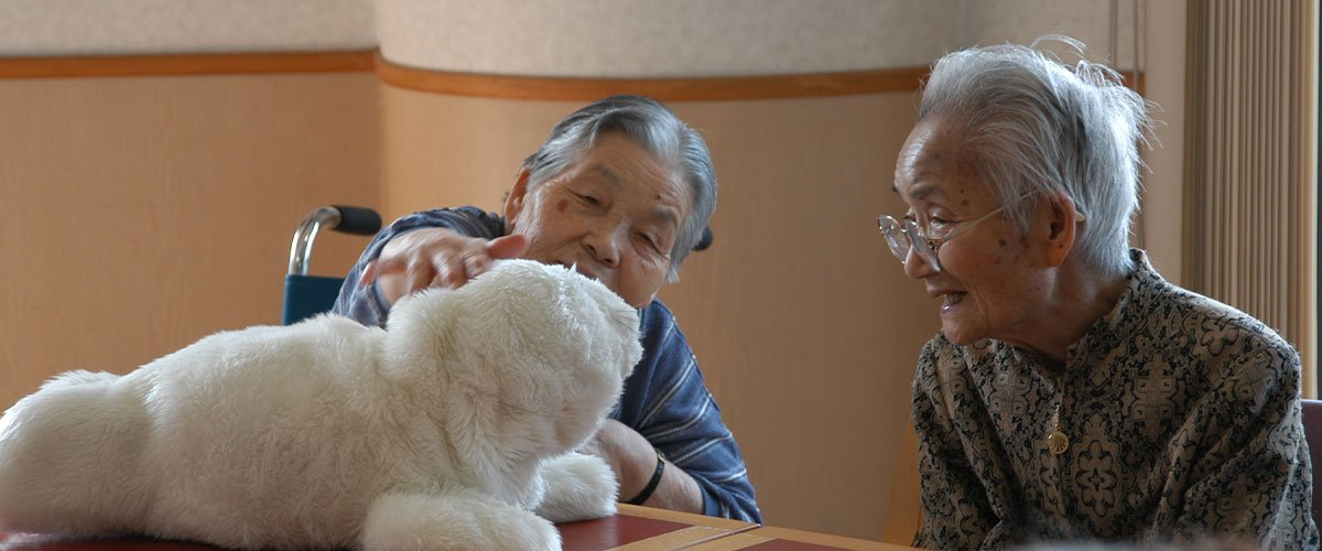 This Japanese Scientist Created an AI Therapy Robot for Elderly Patients