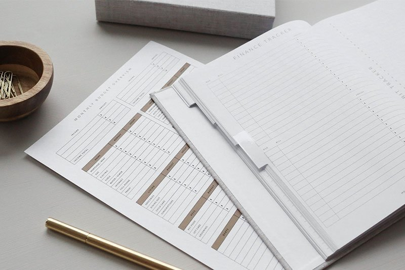 Budgeting Calendar Papers