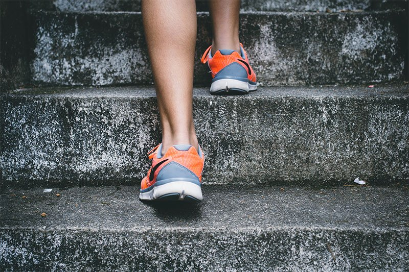 Exercise Climbing Stairs