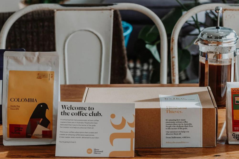 three thousand thieves coffee subscription