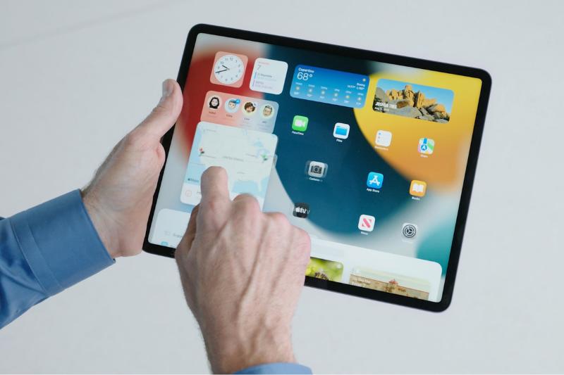 iPad OS homescreen widgets