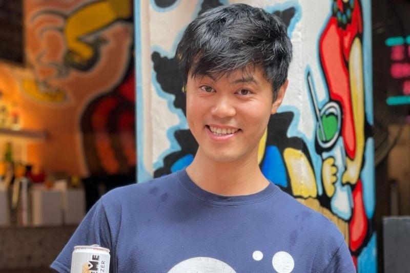 Allen Zhang_BubbleMe Launches Guilt-Free Hard Seltzer at The Lawn Club Hong Kong