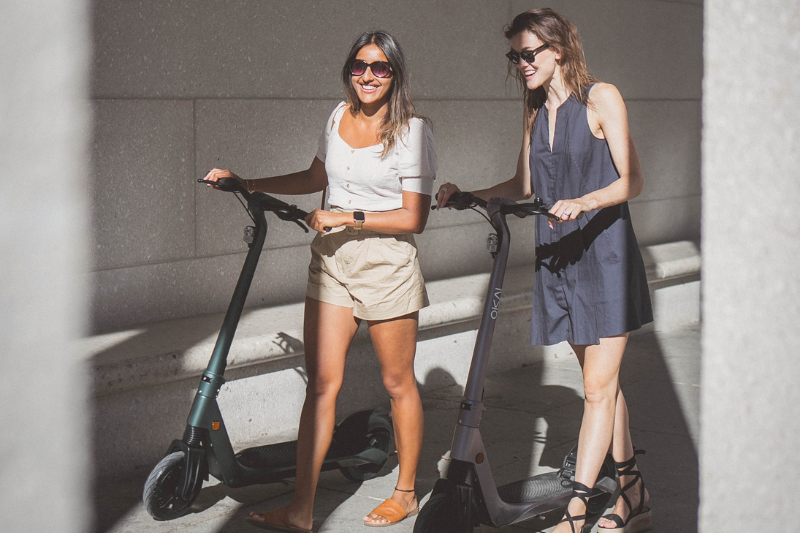 girls with e scooter_What is MaaS? Everything You Need to Know About Mobility as a Service