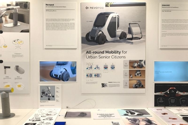 Revopod_2021 PolyU Design Show Spotlights Pandemic-Inspired Healthcare and WFH Innovations